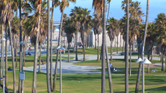 Venice Beach Recreation Center Stock Footage