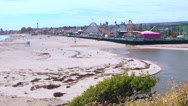 Stock Video Footage of Santa Cruz Beach Boardwalk