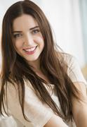 Stock Photo of Portrait of young attractive woman