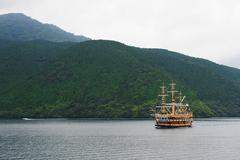 Lake ashi Stock Photos