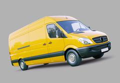 Stock Illustration of commercial van