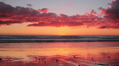 Red Sunset #1 Stock Footage