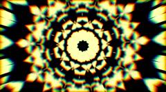 psychedlic transition kaleidoscope 4 - stock footage