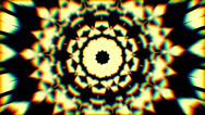 Stock Video Footage of psychedlic transition kaleidoscope 4