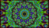 Stock Video Footage of psychedlic transition kaleidoscope 5