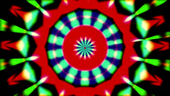 Stock Video Footage of psychedlic transition kaleidoscope 2