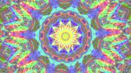 Stock Video Footage of psychedlic transition kaleidoscope 7