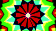 Stock Video Footage of psychedlic transition kaleidoscope 3