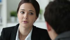HR professional - stock footage