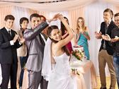 Stock Photo of group people at wedding dance.