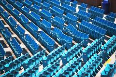Empty outdoor arena seating - stock photo