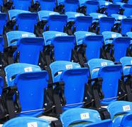Stock Photo of Numbered arena seating