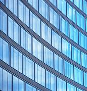 Low angle view of high rise - stock photo