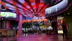 Planet Hollywood Resort and Casino in Las Vegas. Stock Footage