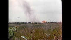 Vietnam War - Battle Trenches 01 Stock Footage