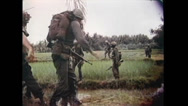 Stock Video Footage of Vietnam War - US soldiers In Jungle 01