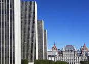 Stock Photo of USA, New York, Albany, New York State Capitol