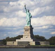 USA, New York City, Statue of Liberty Stock Photos