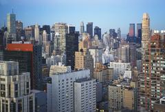 Stock Photo of USA, New York City, Manhattan skyline