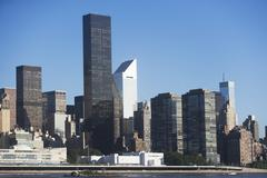 Stock Photo of USA, New York State, New York City, Manhattan, Trump Worldwide Plaza