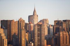USA, New York State, New York City, cityscape Stock Photos