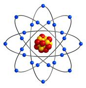 Atomic structure Stock Illustration