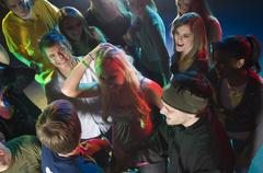 Young people at dance club - stock photo