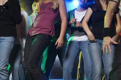 Nuoret tanssi Kuvituskuvat