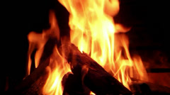 Fire 1 - stock footage