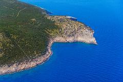 Adriatic landscape - Island Losinj Stock Photos