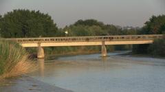 Italy - Marche - Bridge Stock Footage