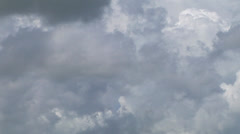 Time lapse, Storms build then dissipate time lapse 40sec Stock Footage