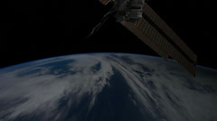 Solareclipse iss 20120520HighRes 1 Stock Footage