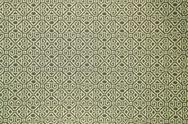 Stock Photo of pattern of green tradition clothing wall paper panel, close up