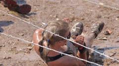Mud race 1 Stock Footage