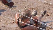 Mud race 1 Stock Footage