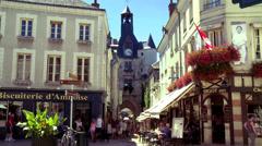 Amboise (1) - France Stock Footage