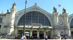 Gare de Tours (3) - Tours France Stock Footage