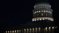 Utah Capital Building Stock Footage