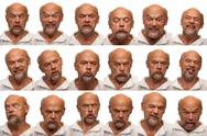 Stock Photo of Expressions - Senior Aged Man