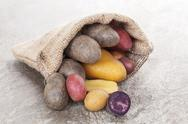 Stock Photo of delicous potatoes.