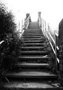 Stairs to the sky Stock Photos