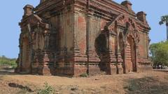 Gubyaukgyi Temple Stock Footage