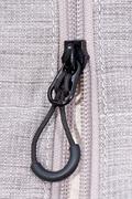 zipper (macro view) - stock photo