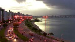 FLORIANOPOLIS, BRAZIL Stock Footage