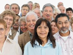 A group of people - stock photo