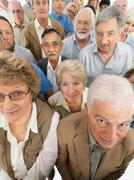 A group of diverse people - stock photo