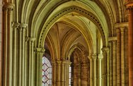 Stock Photo of Caen, the abbaye aux Hommes in France