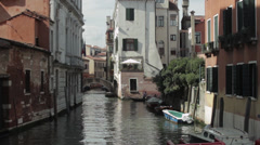 Venice Italy Canal - stock footage