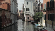 Stock Video Footage of Venice Italy Canal